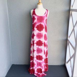 C&C California Dresses - C&C California Tie Dye Maxi Dress Size S
